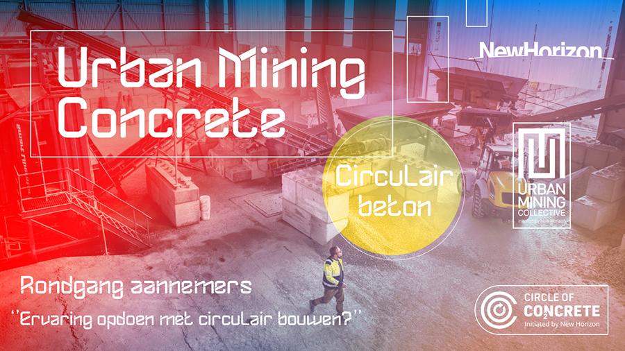 Urban Mining Concrete Circulair beton