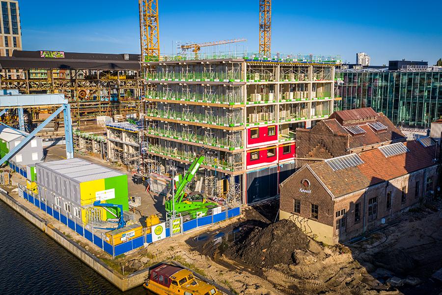 Urban Mining Concrete Oostenburg